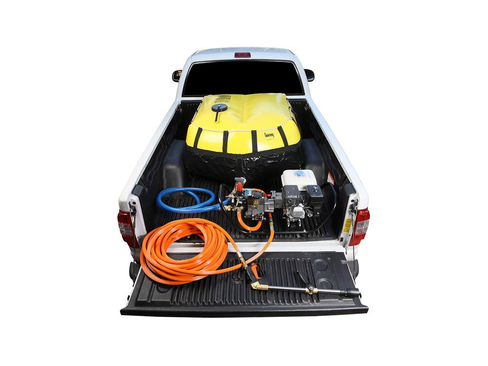 CONJUNTO COMBATE INCENDIOS PICK-UP 400L